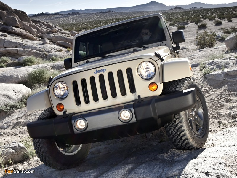 Pictures of Jeep Wrangler Unlimited Mojave (JK) 2011 (800 x 600)