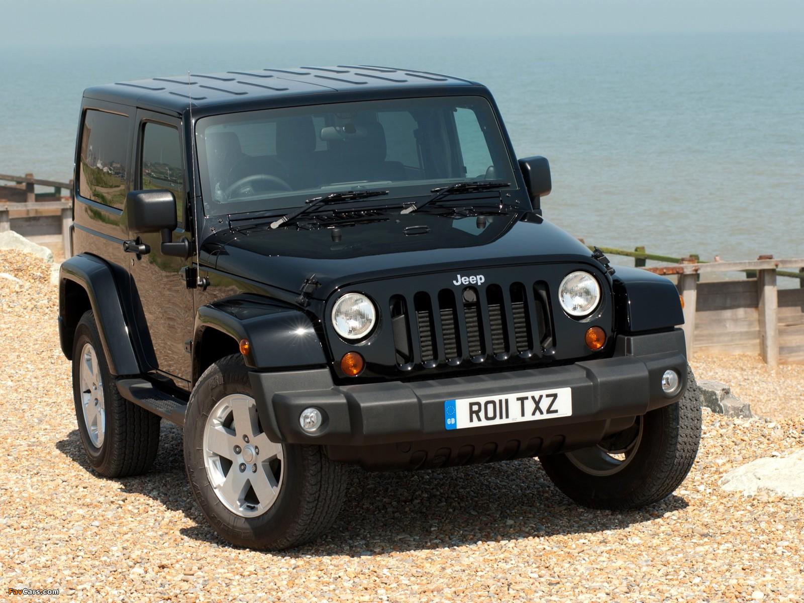 Pictures of Jeep Wrangler 70th Anniversary UK-spec (JK) 2011 (1600 x 1200)