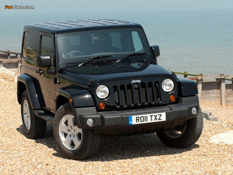 Pictures of Jeep Wrangler 70th Anniversary UK-spec (JK) 2011 (800 x 600)