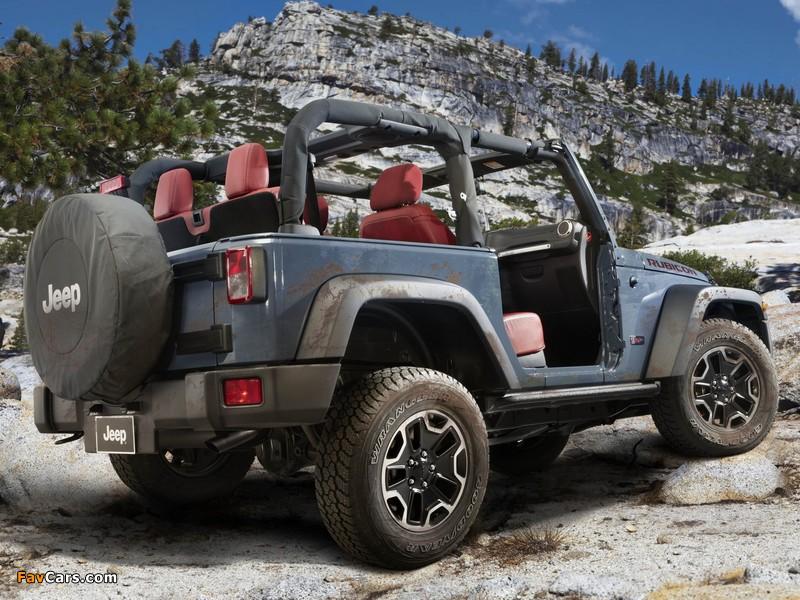 Pictures of Jeep Wrangler Rubicon 10th Anniversary EU-spec (JK) 2013 (800 x 600)