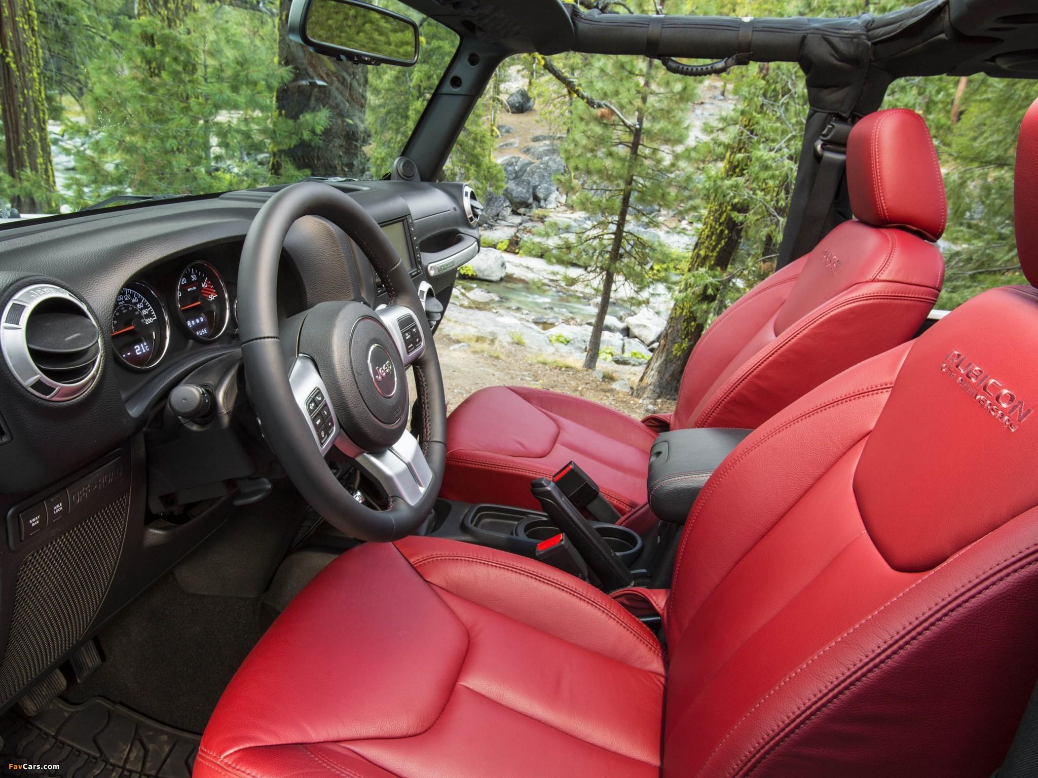 Pictures of Jeep Wrangler Rubicon 10th Anniversary EU-spec (JK) 2013 (2048 x 1536)