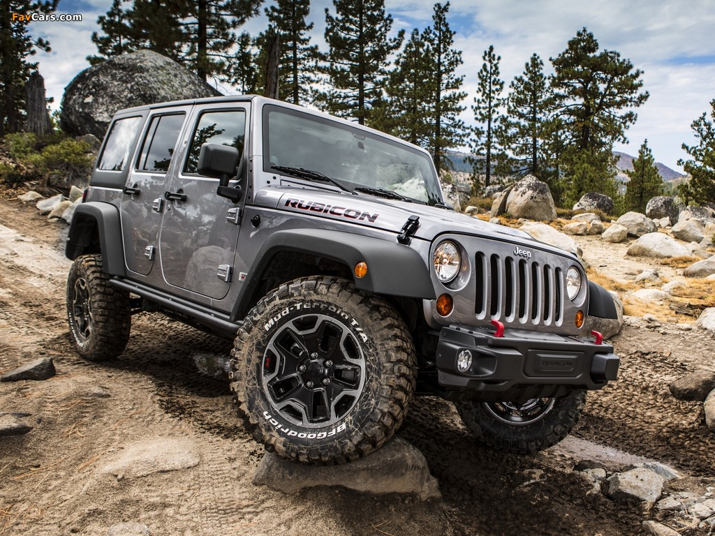 Pictures of Jeep Wrangler Unlimited Rubicon 10th Anniversary (JK) 2013 (1024 x 768)