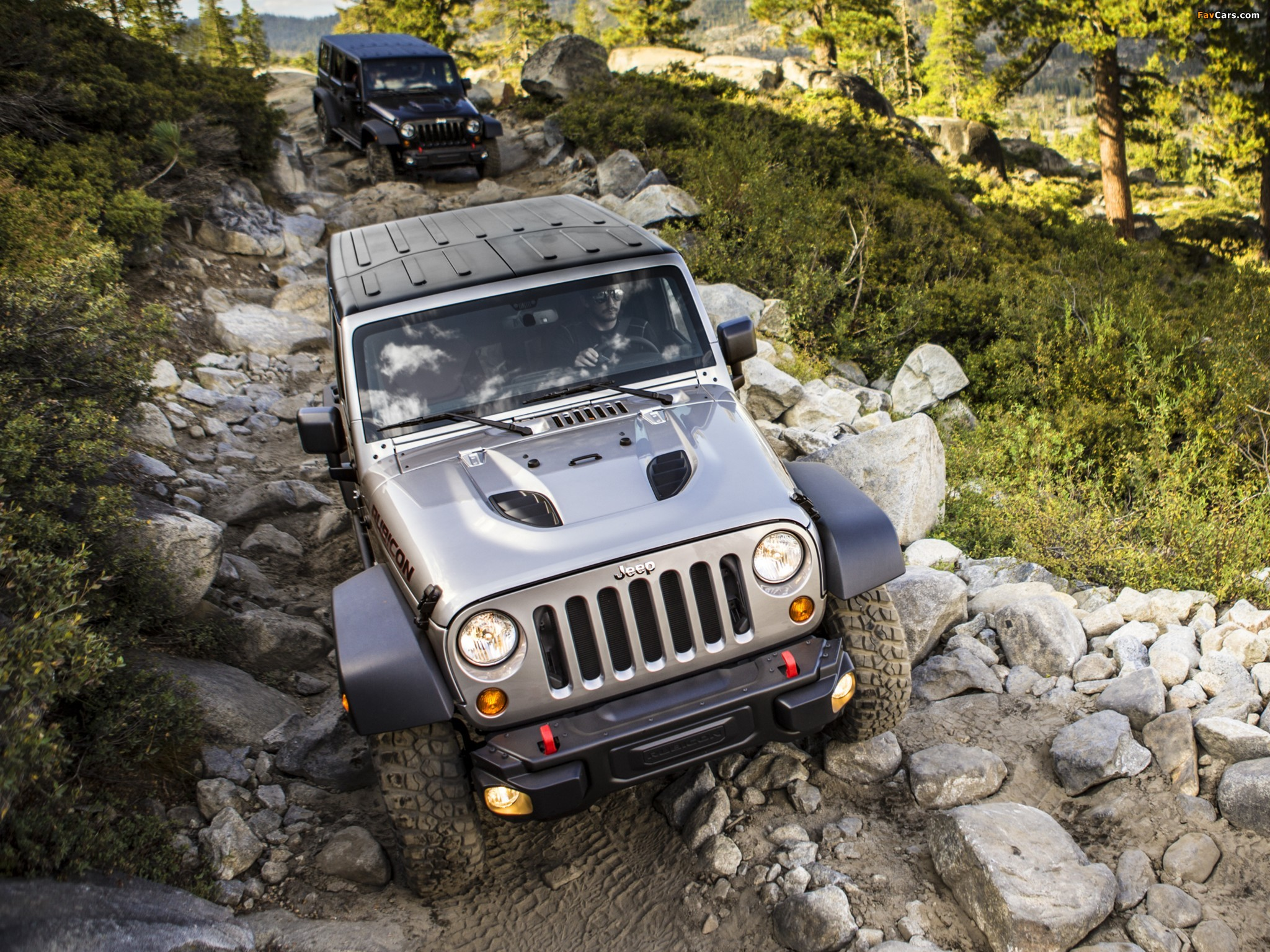 Pictures of Jeep Wrangler Unlimited Rubicon 10th Anniversary (JK) 2013 (2048 x 1536)