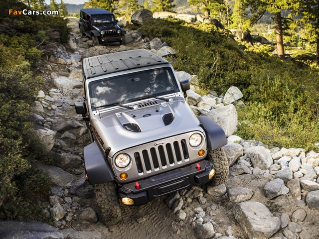 Pictures of Jeep Wrangler Unlimited Rubicon 10th Anniversary (JK) 2013 (640 x 480)