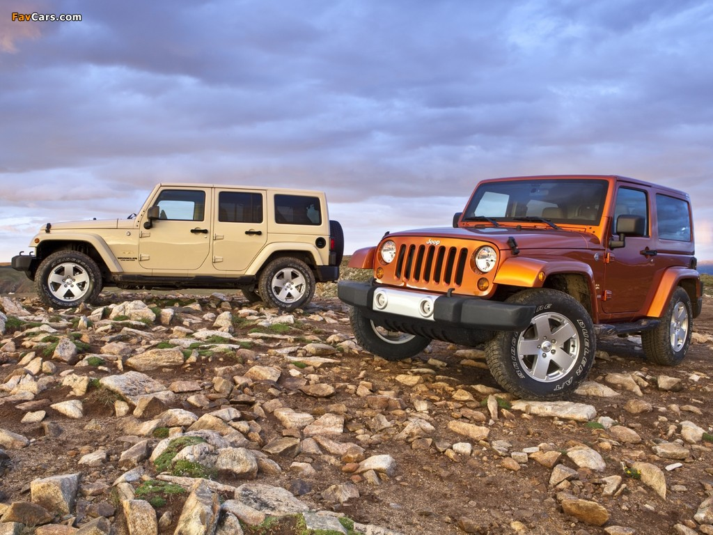 Pictures of Jeep Wrangler (1024 x 768)