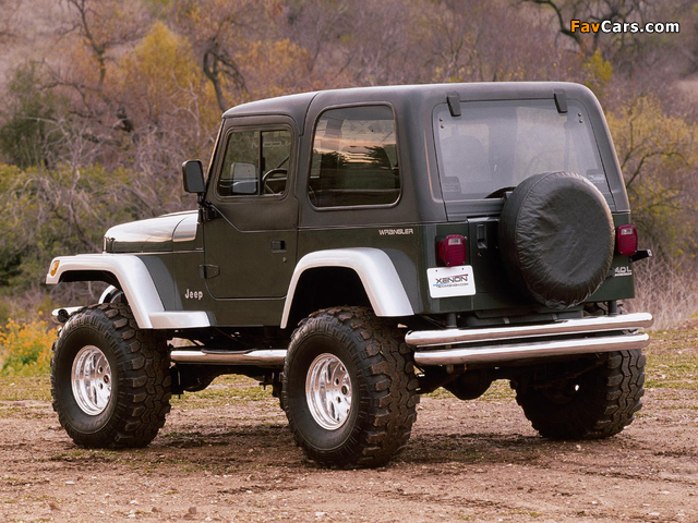 Xenon Jeep Wrangler (YJ) 1987–95 wallpapers (640 x 480)