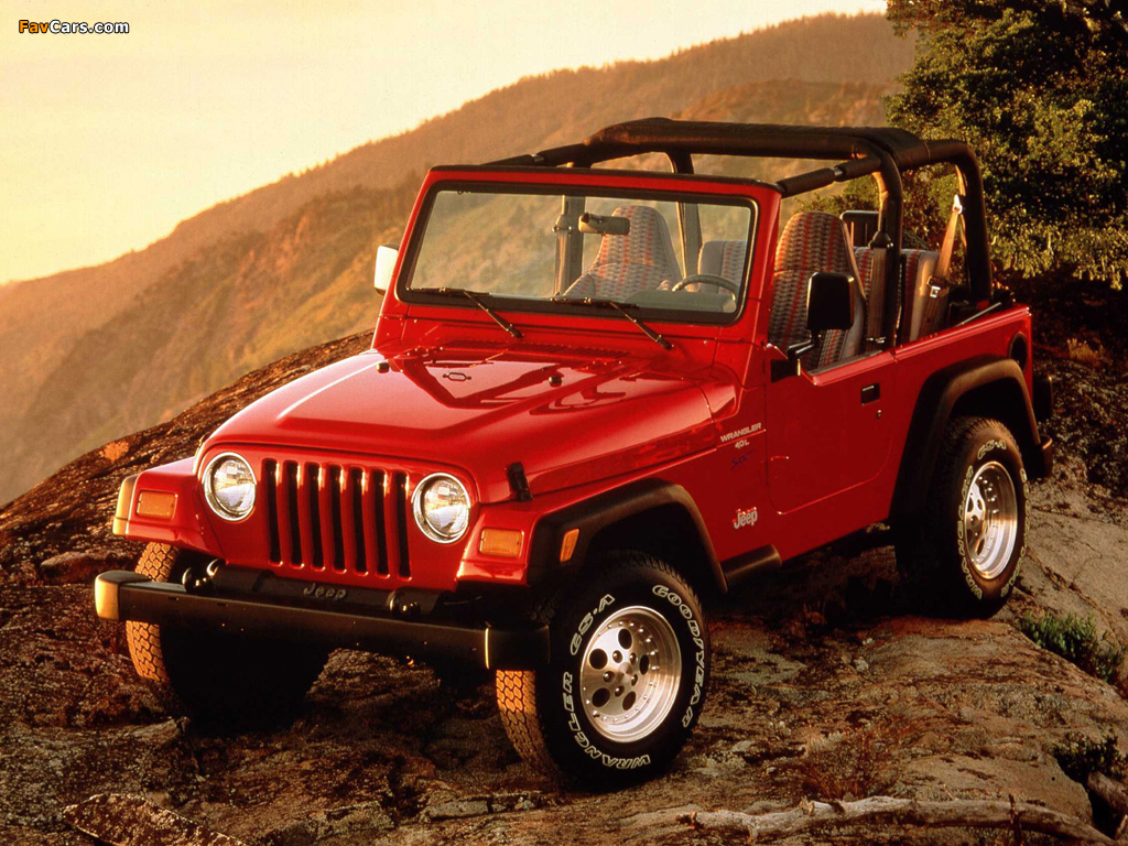 Jeep Wrangler (TJ) 1997–2006 wallpapers (1024 x 768)