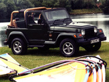 Jeep Wrangler Sahara UK-spec (TJ) 2002–06 wallpapers