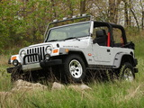 Jeep Wrangler Rubicon Tomb Raider (TJ) 2003 wallpapers