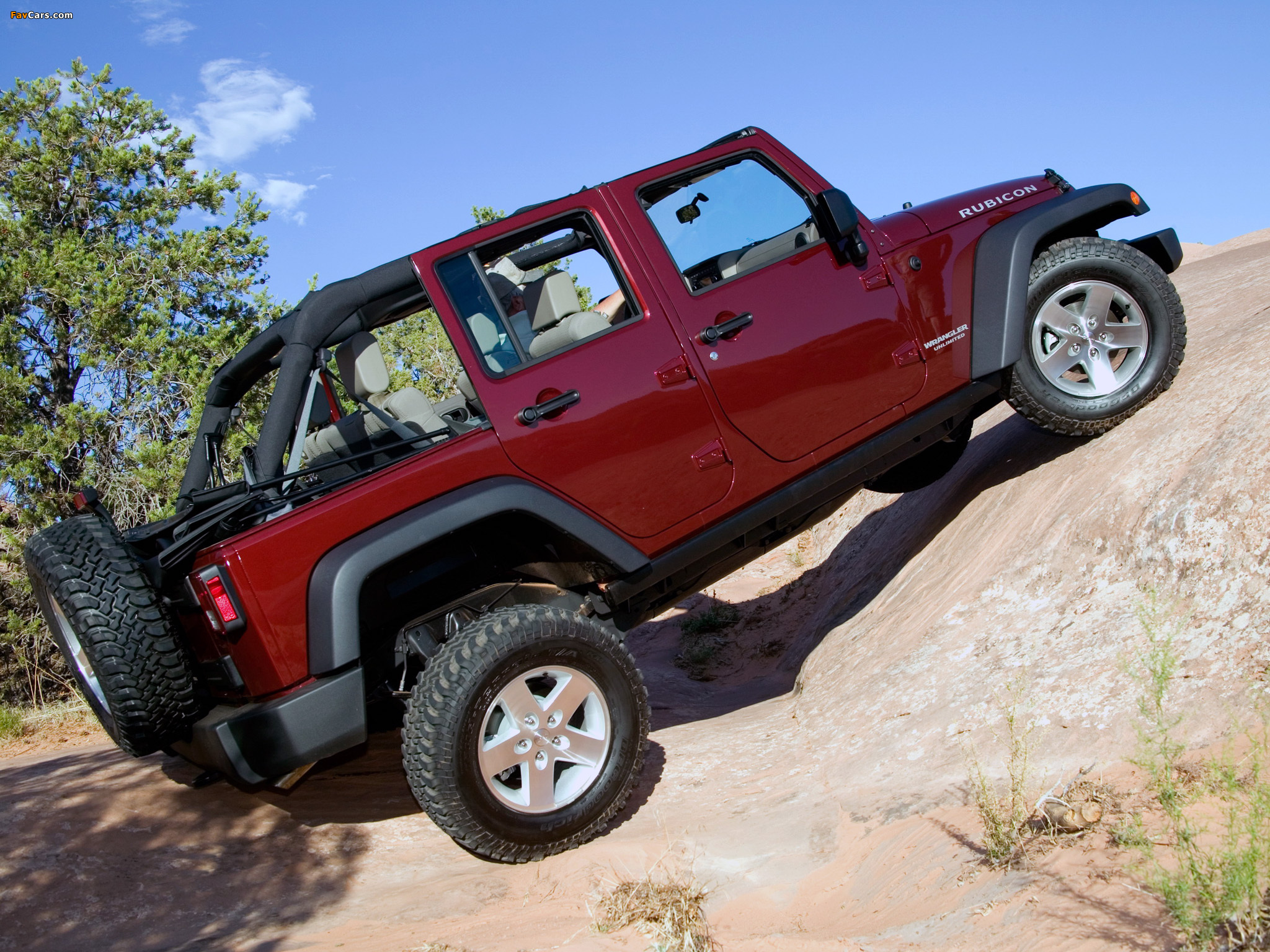 Jeep Wrangler Unlimited Rubicon (JK) 2006–10 wallpapers (2048 x 1536)