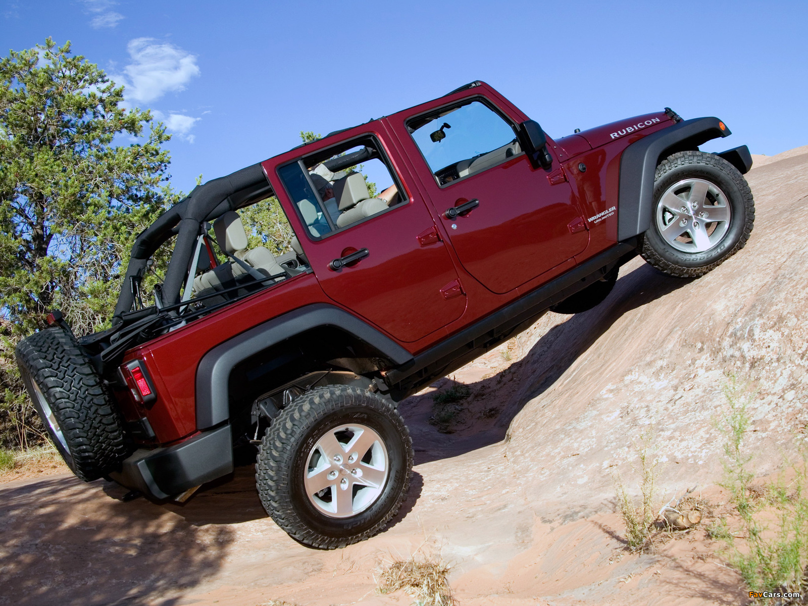 Jeep Wrangler Unlimited Rubicon (JK) 2006–10 wallpapers (1600 x 1200)