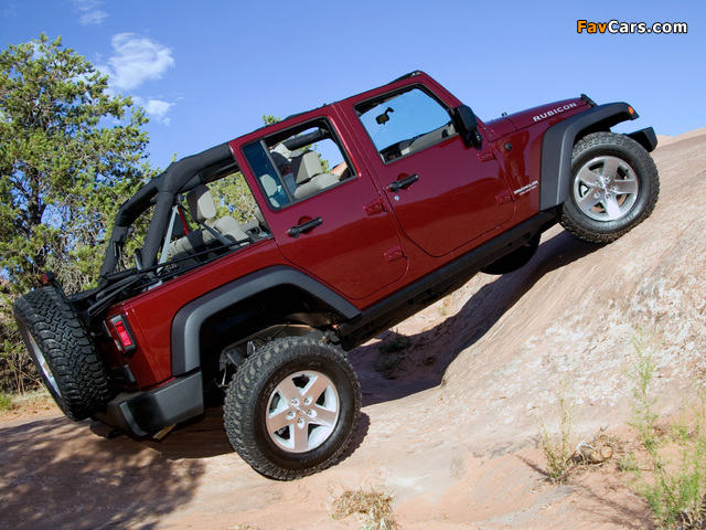 Jeep Wrangler Unlimited Rubicon (JK) 2006–10 wallpapers (640 x 480)