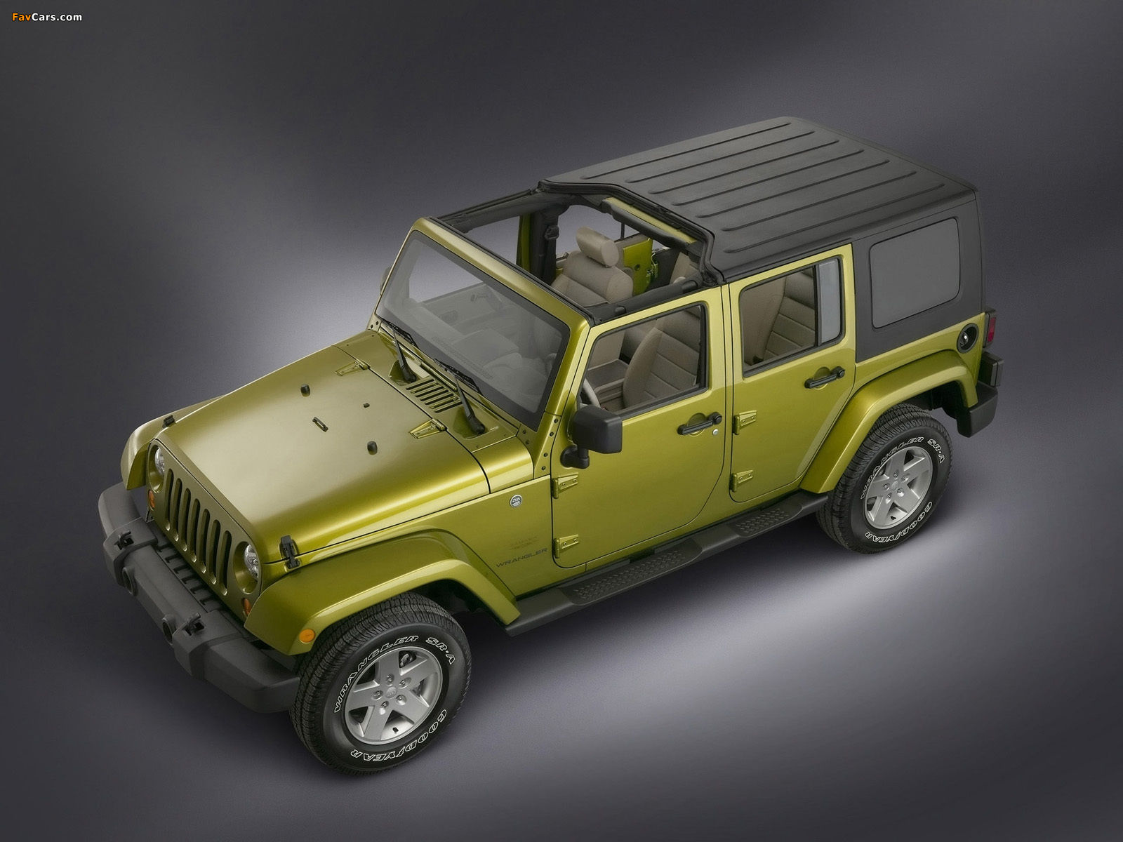 Jeep Wrangler Unlimited Sahara (JK) 2006–10 wallpapers (1600 x 1200)