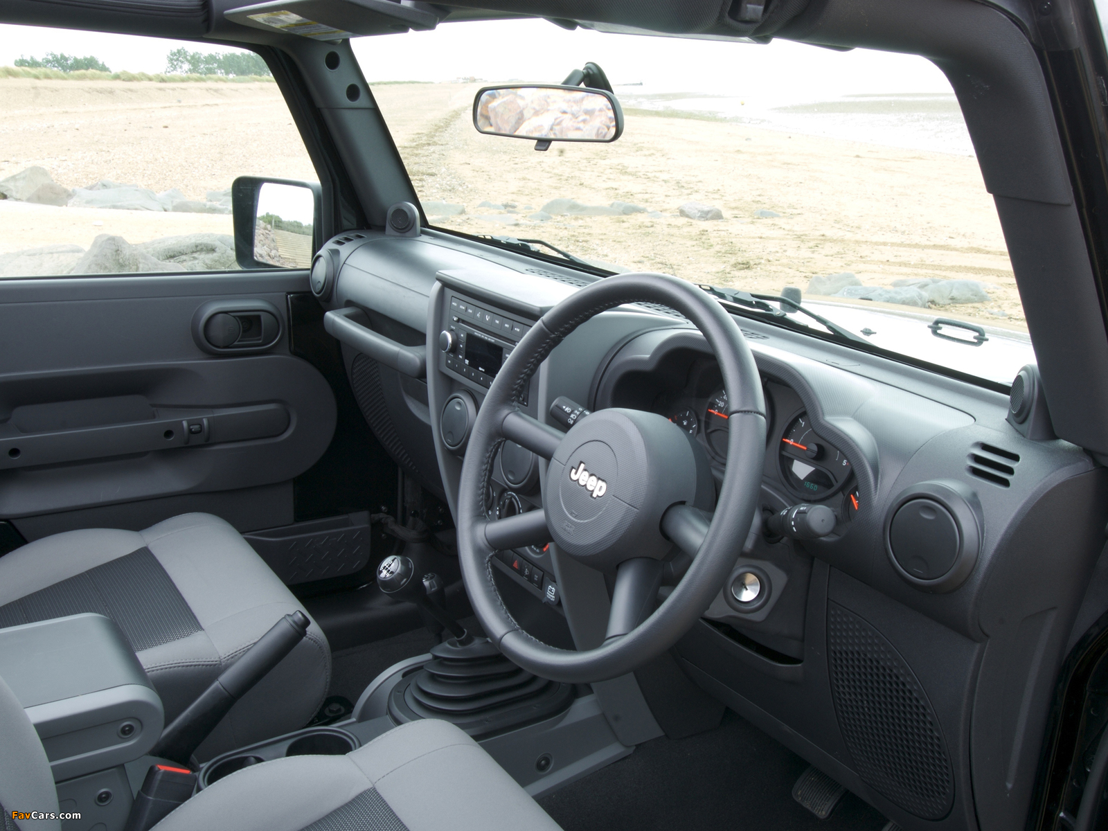 Jeep Wrangler Sport UK-spec (JK) 2007 wallpapers (1600 x 1200)
