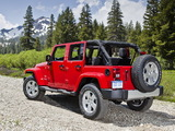 Jeep Wrangler Unlimited Sahara (JK) 2010 wallpapers
