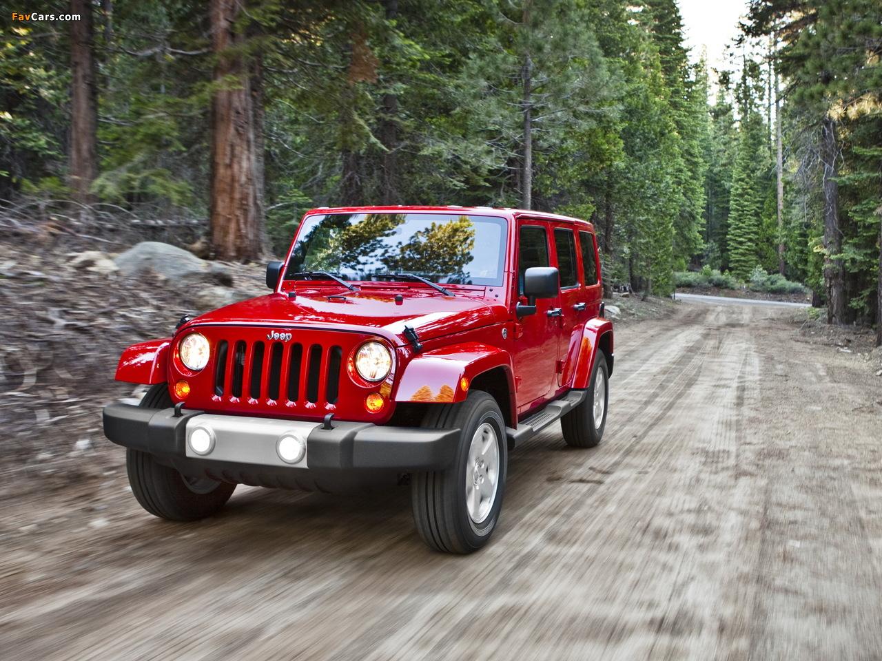 Jeep Wrangler Unlimited Sahara (JK) 2010 wallpapers (1280 x 960)