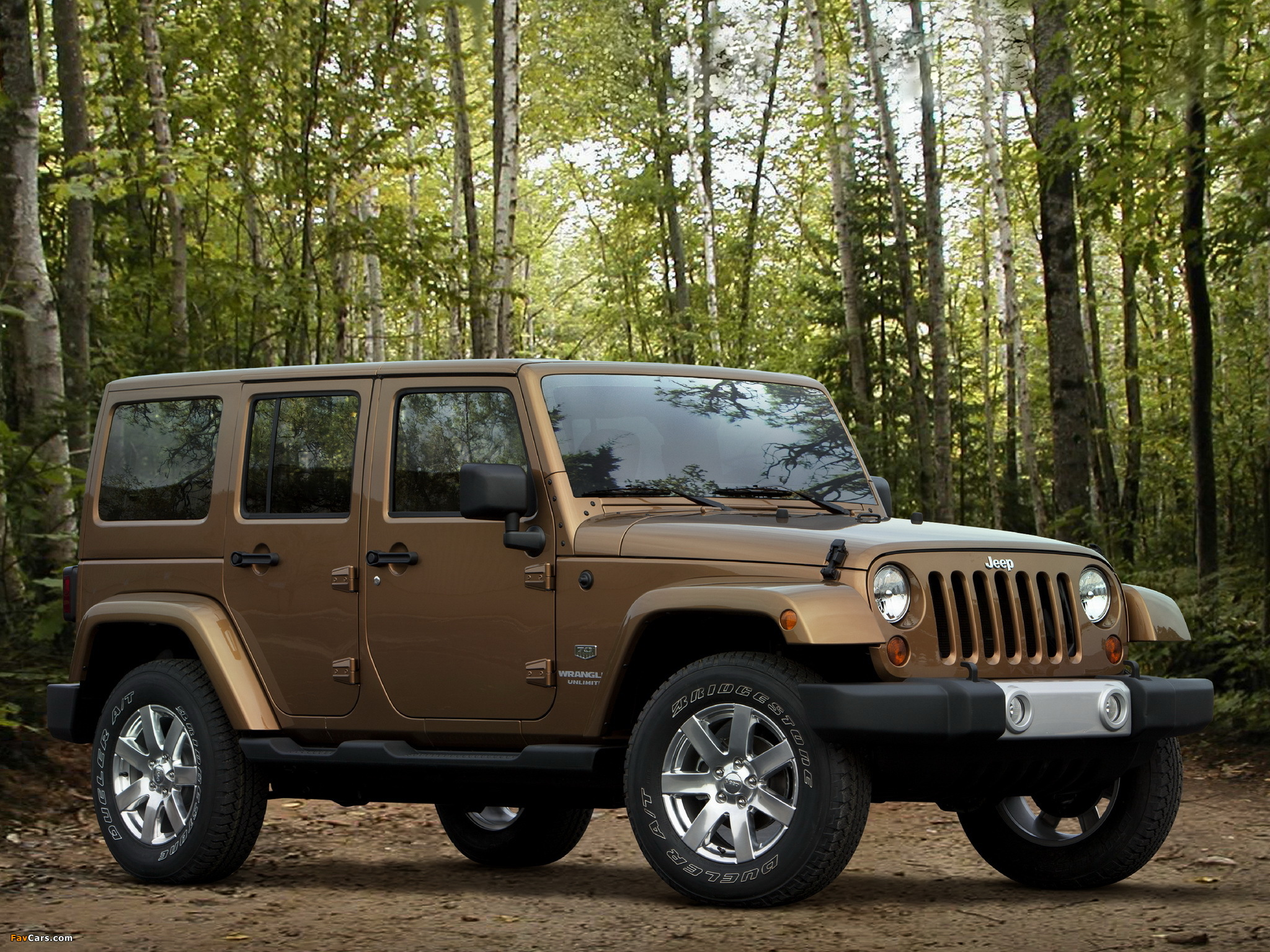 Jeep Wrangler Unlimited 70th Anniversary (JK) 2011 wallpapers (2048 x 1536)