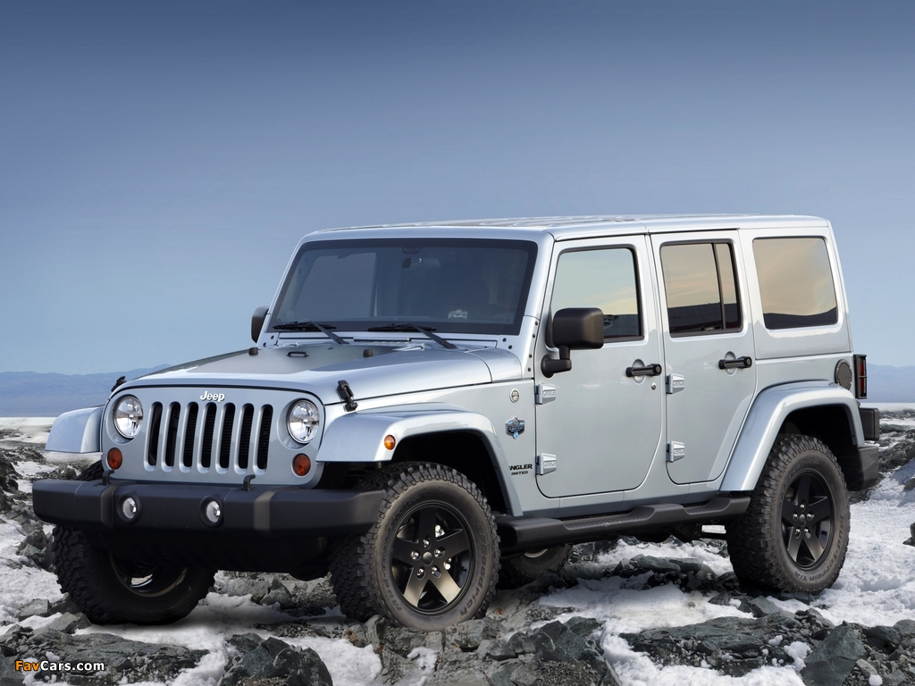 Jeep Wrangler Unlimited Arctic (JK) 2012 wallpapers (1024 x 768)