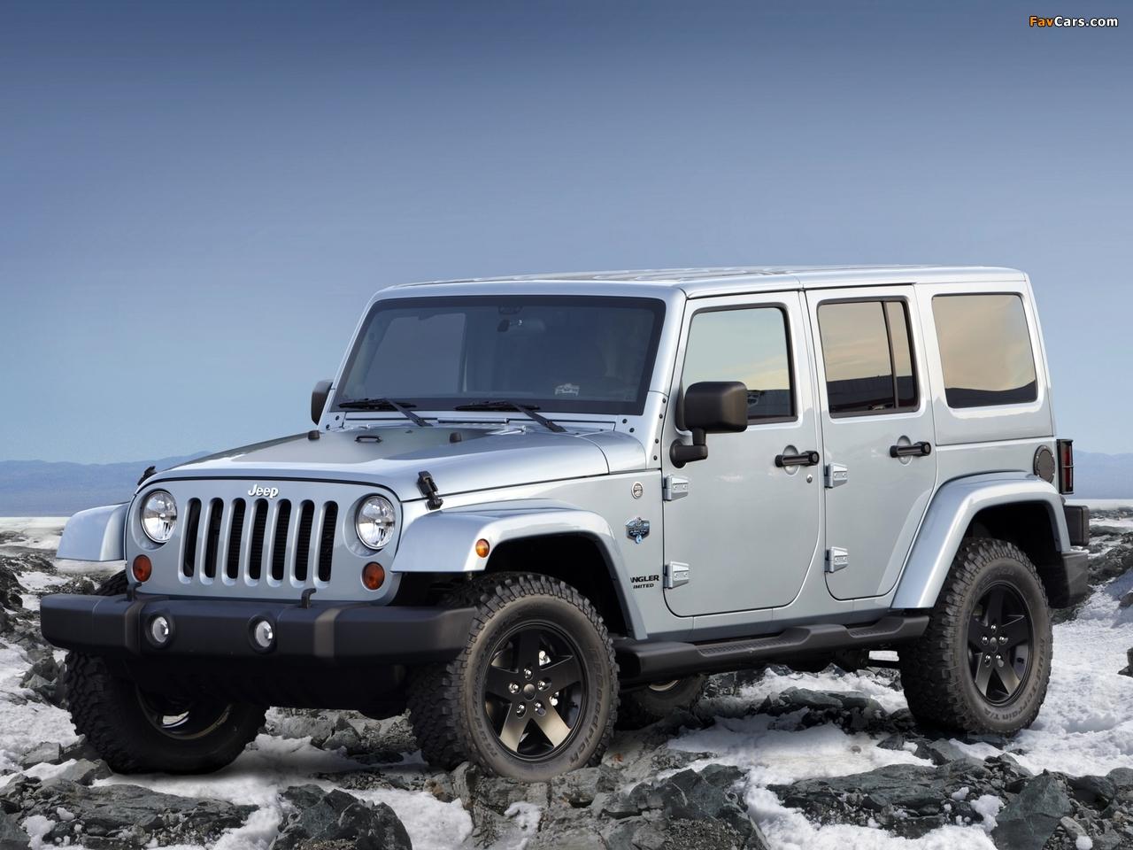 Jeep Wrangler Unlimited Arctic (JK) 2012 wallpapers (1280 x 960)