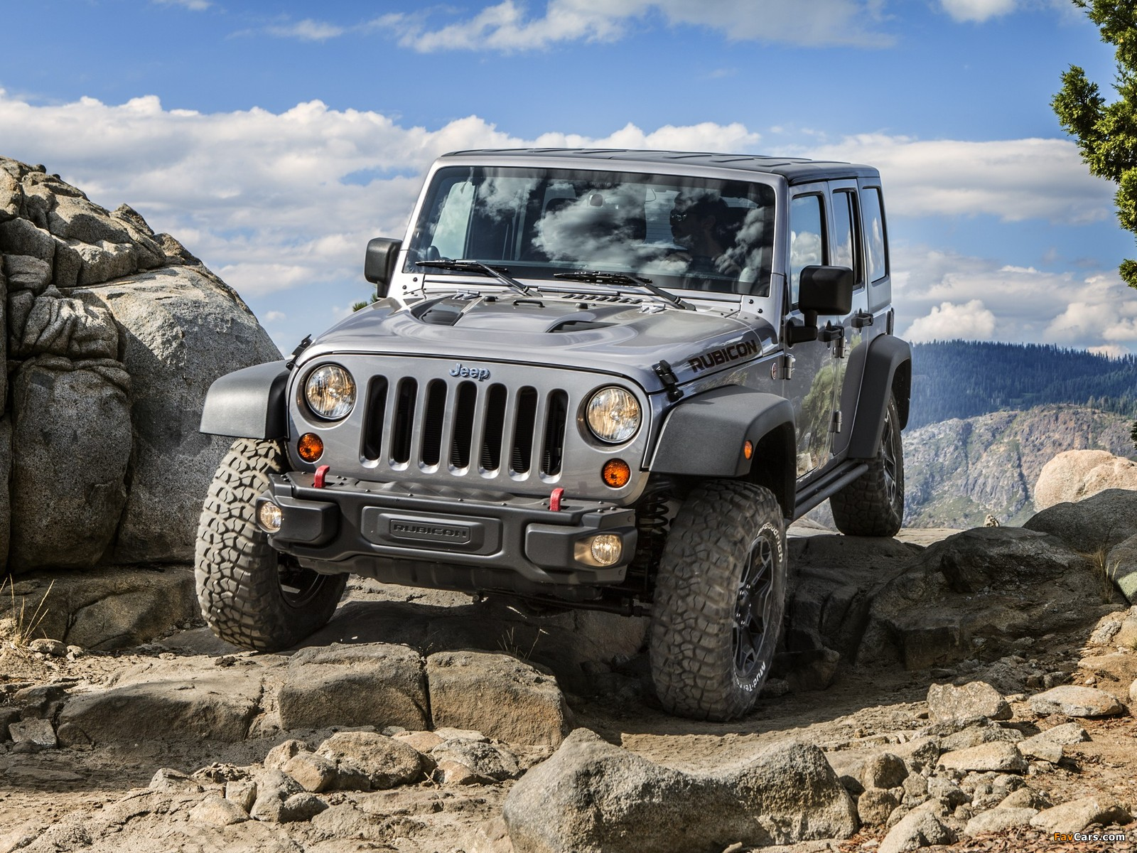 Jeep Wrangler Unlimited Rubicon 10th Anniversary (JK) 2013 wallpapers (1600 x 1200)