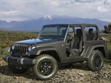 Jeep Wrangler Willys Wheeler (JK) 2014 wallpapers