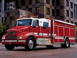 Photos of Kenworth T300 Firetruck by Pierce 1997–2002