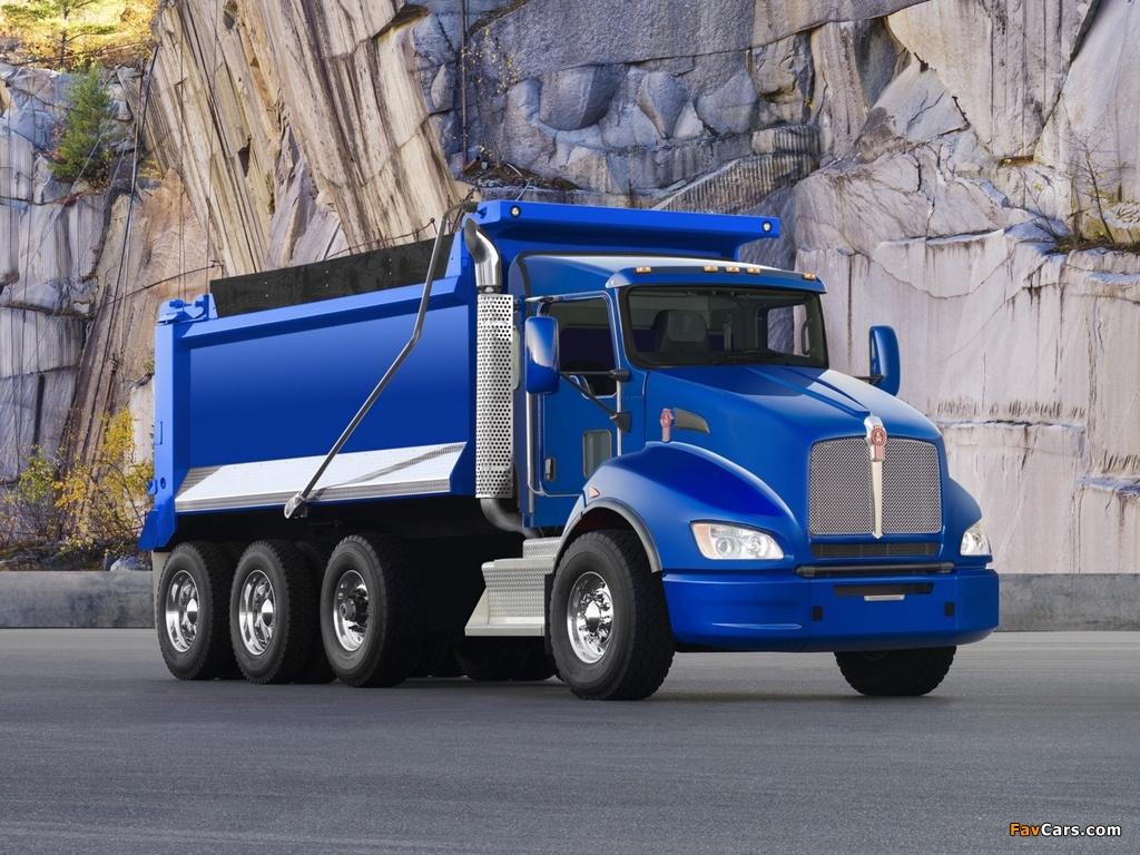 Images Of Kenworth T440 Dump Truck 2009 1024x768
