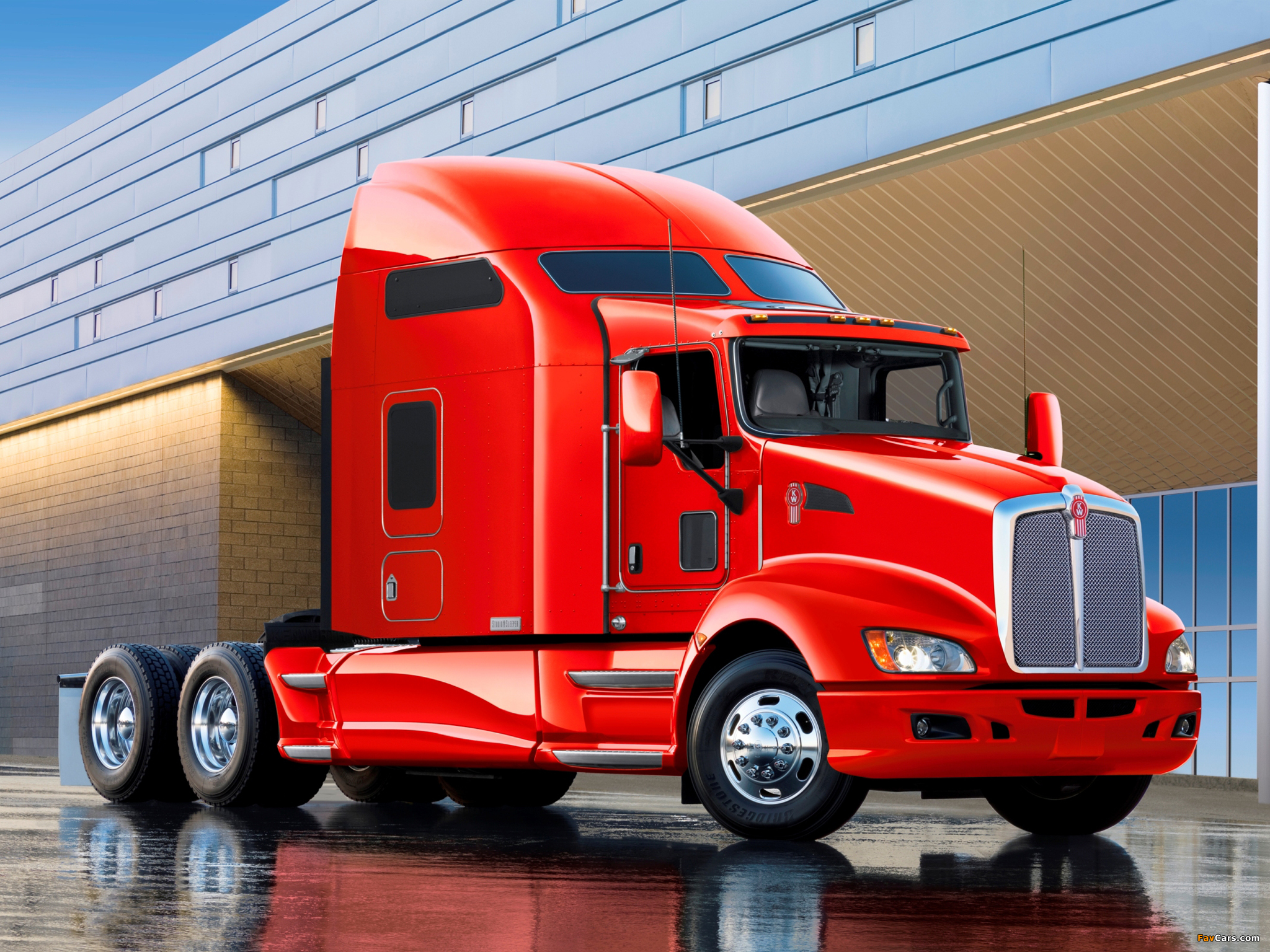 Images of Kenworth T660 2008 (2048 x 1536)
