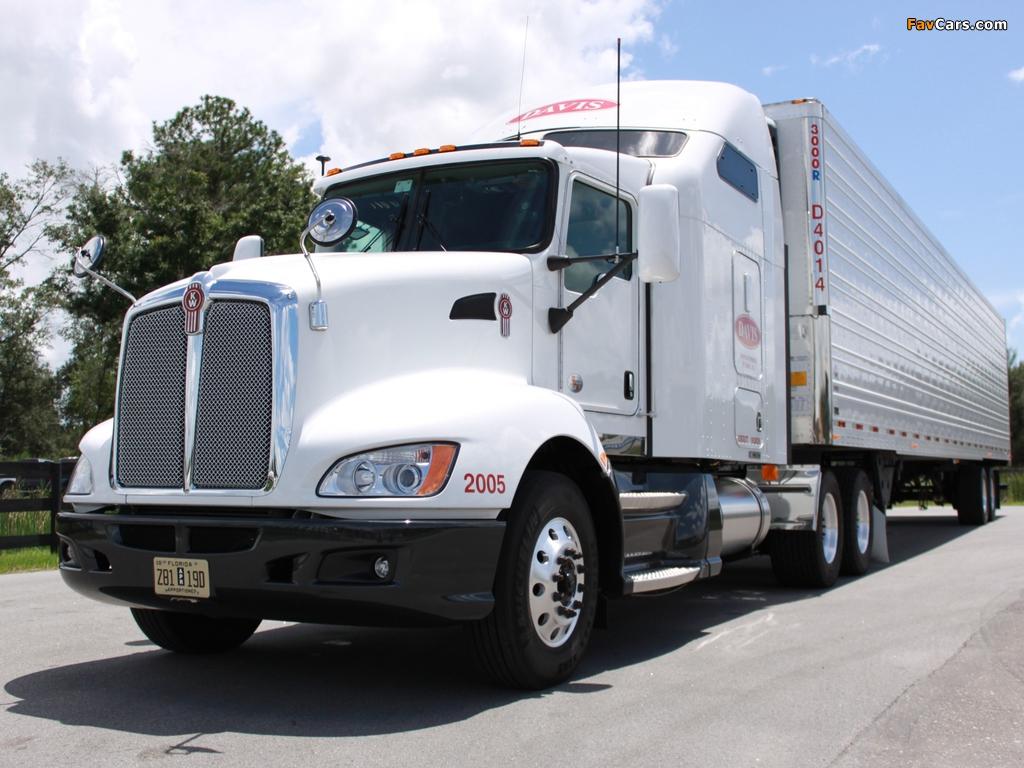 Kenworth T660 2008 photos (1024 x 768)
