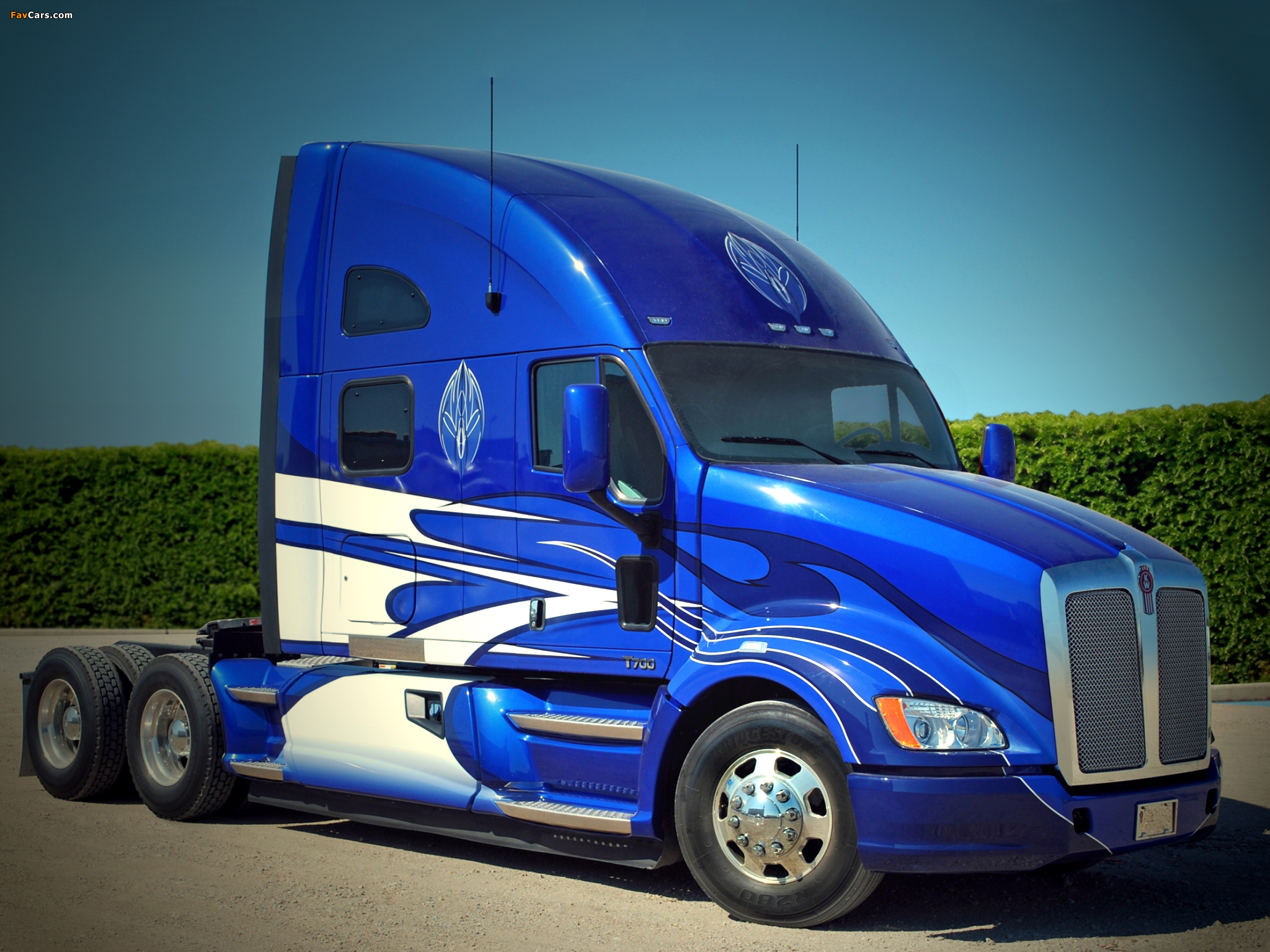 Images of Kenworth T700 2010 (2048 x 1536)