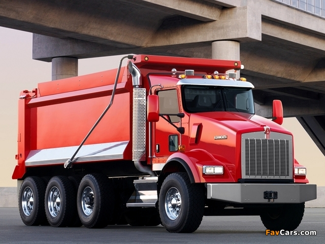 Kenworth T800 Dump Truck 2005 pictures (640 x 480)