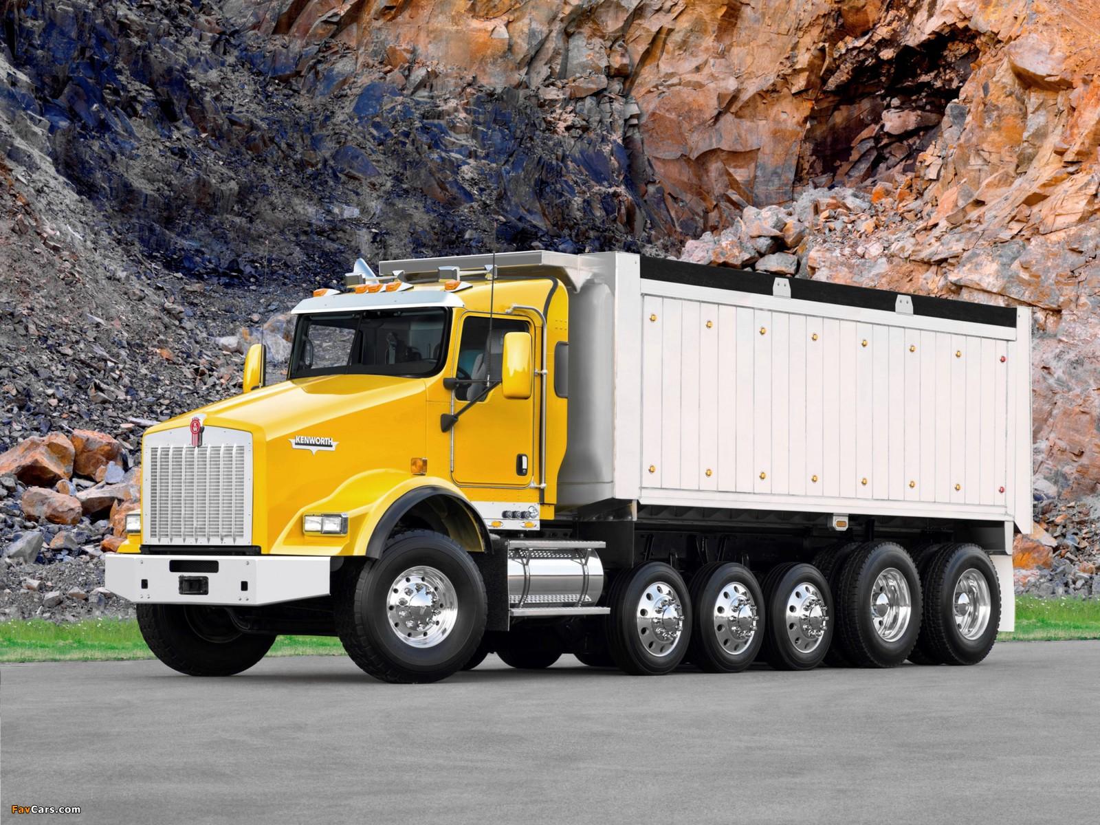 Kenworth T800 Dump Truck 2005 pictures (1600 x 1200)