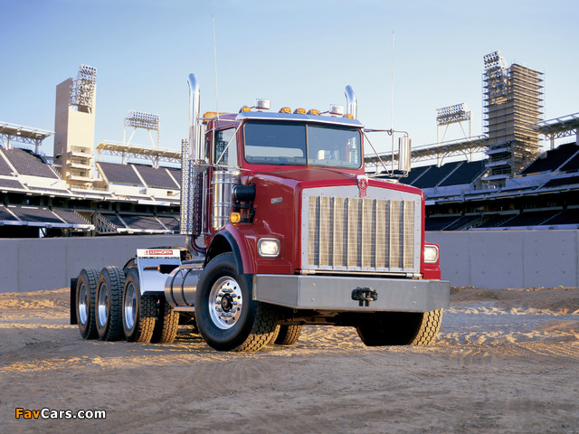 Pictures of Kenworth T800 1992–2005 (640 x 480)