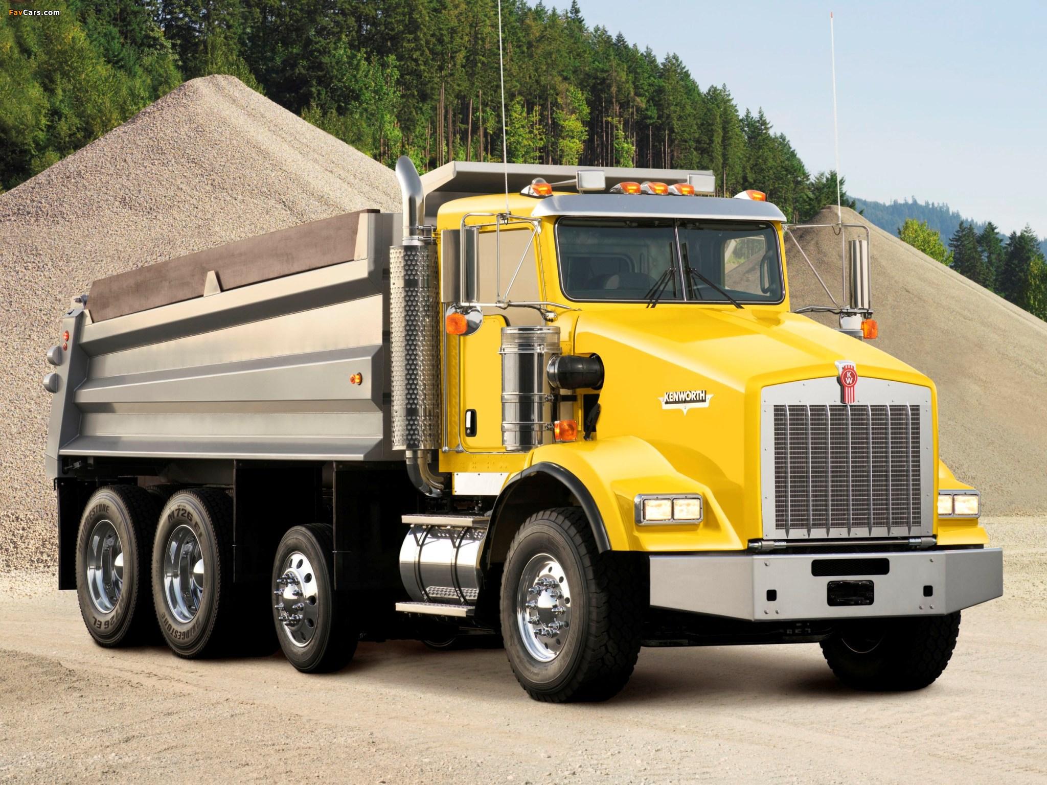 Kenworth T800 Dump Truck 2005 wallpapers (2048 x 1536)