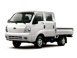Kia Bongo III Double Cab Pickup (PU) 2004–12 wallpapers