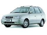 Kia Carens UK-spec 1999–2002 pictures