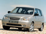 Photos of Kia Carens UK-spec 1999–2002
