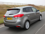Photos of Kia Carens EcoDynamics UK-spec 2013
