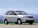 Pictures of Kia Carens 2002–06