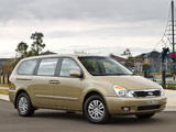 Photos of Kia Grand Carnival AU-spec (VQ) 2010