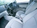 Images of Kia Cerato Sedan UK-spec (LD) 2004–07