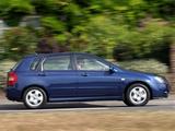 Kia Cerato Hatchback UK-spec (LD) 2004–07 images