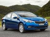 Photos of Kia Cerato Sedan AU-spec 2013