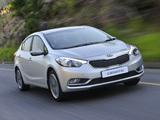Photos of Kia Cerato Sedan ZA-spec 2013