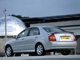 Pictures of Kia Cerato Sedan UK-spec (LD) 2004–07