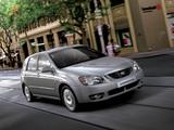 Kia Cerato Hatchback (LD) 2004–07 wallpapers