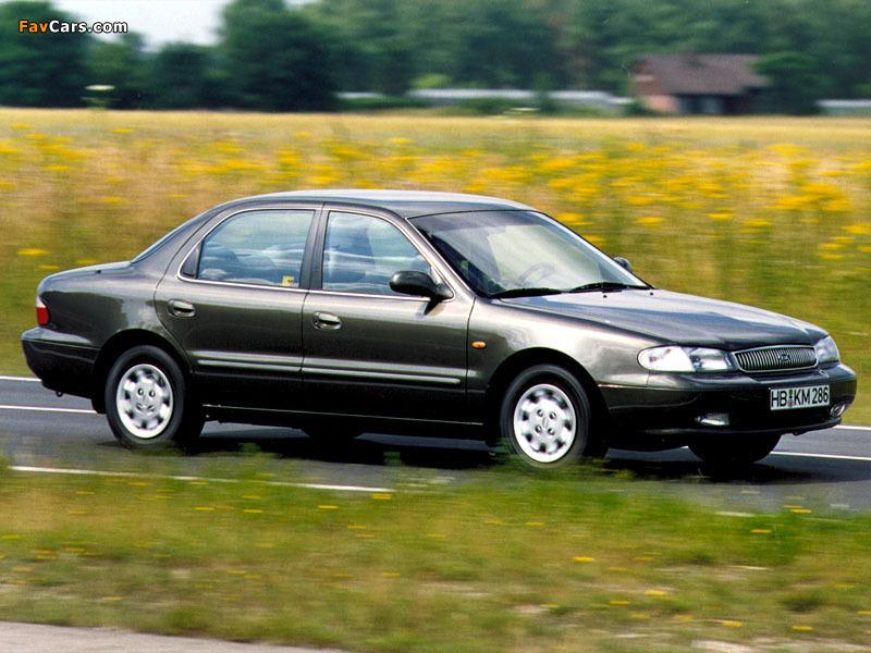 Kia Clarus 1996–98 photos (800 x 600)