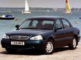 Kia Clarus UK-spec 1998–2001 photos