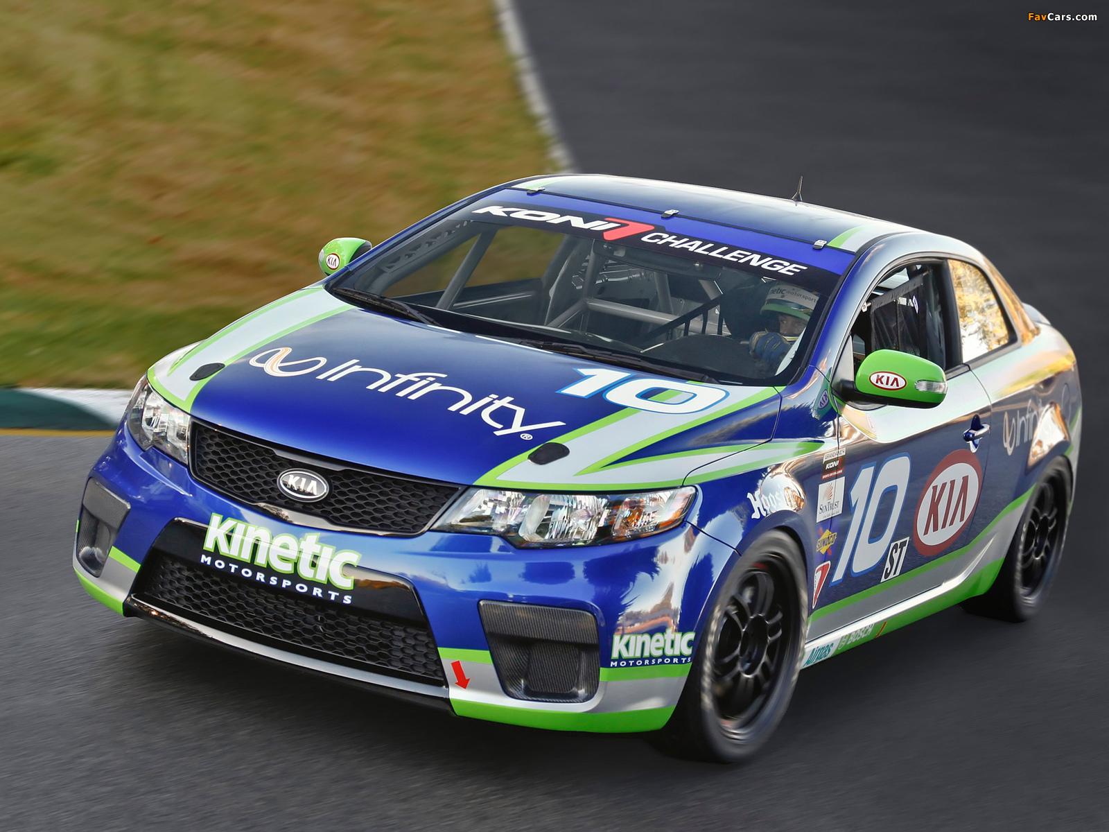 Kia Forte Koup Grand Am Race Car (TD) 2010 photos (1600 x 1200)