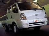 Kia K2500 Double Cab 2004 wallpapers